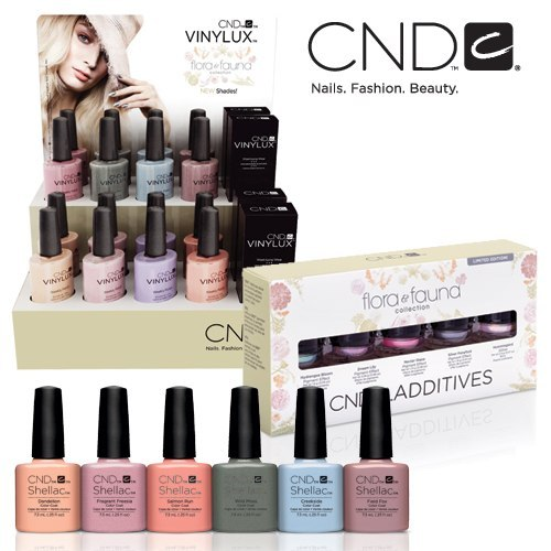 CND Flora & Fauna Spring Collection 2015