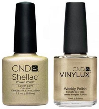 CND shellac vinylux locket love