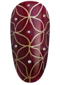 дизайна ногтей гель-лаками CND Shellac Modern Folklore