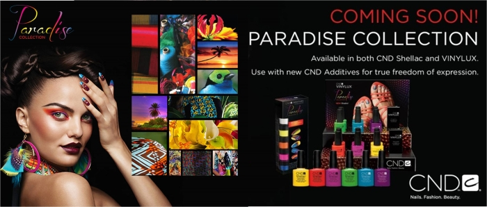CND Paradise collection summer 2014