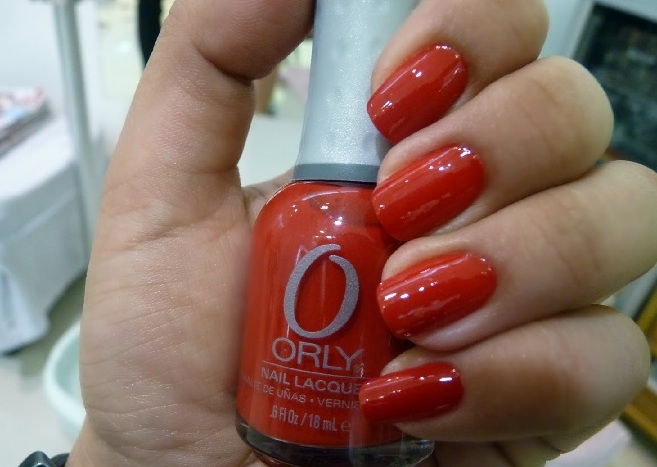 ORLY Down Right Red