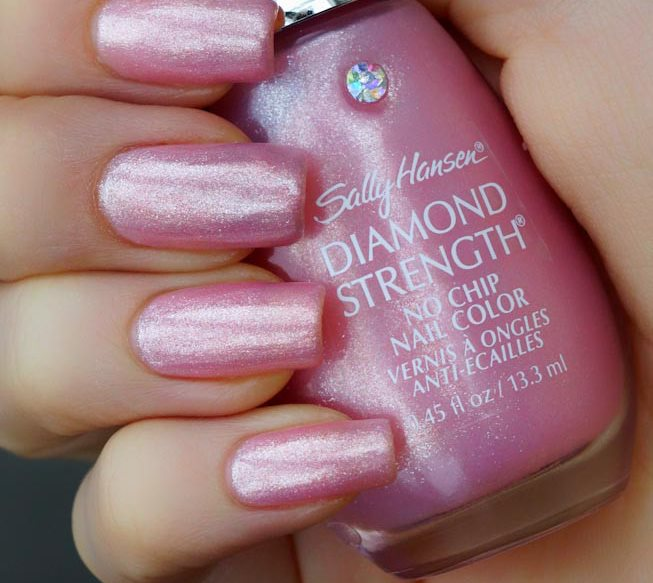 Лак Sally Hansen Diamond strength №250 Pink Promise