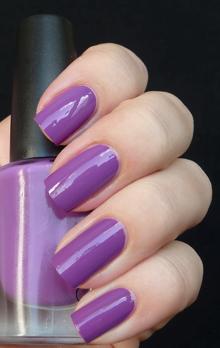 лак CND Eclectic Purple