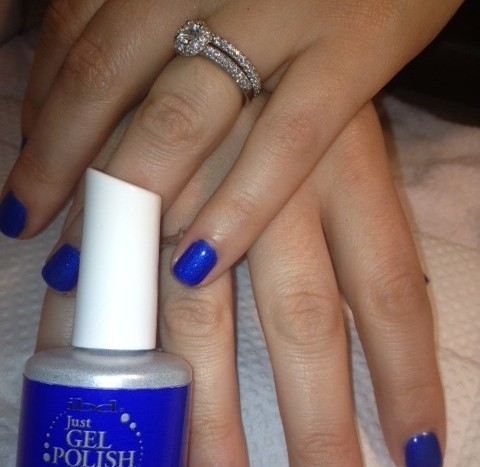 гель лак ibd Just Gel Polish Blue Haven