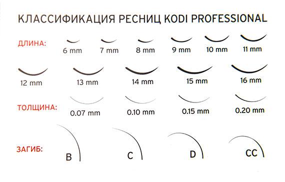 ресницы Kodi Professional