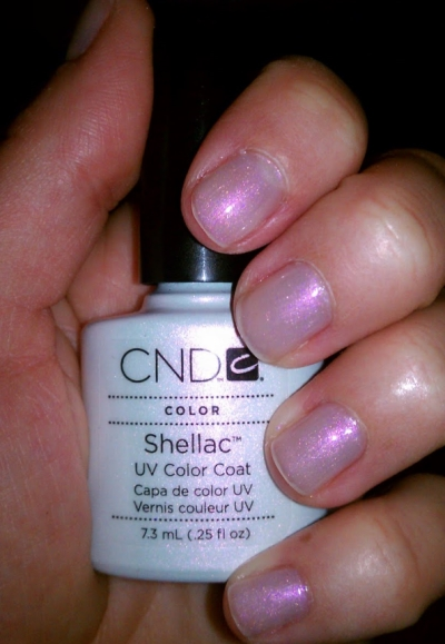 гель-лак CND Shellac Mother of Pearl