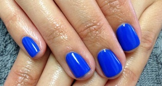 harmony gelish mali blu me away