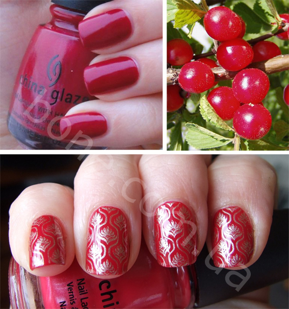 лак China Glaze Bing Cherry