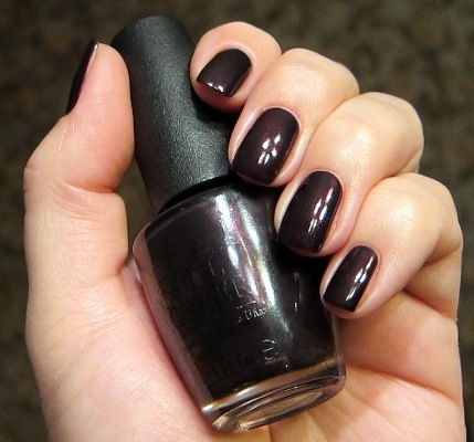 Лак OPI Black Cherry Chutney 15 мл