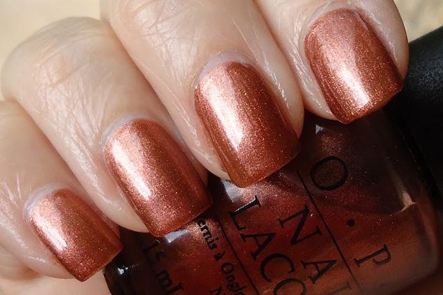 Лак OPI Brisbane Bronze