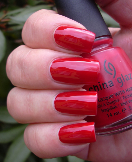 лак China Glaze China Rouge