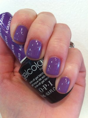 Гель-лак OPI A Grape Fit 15 мл