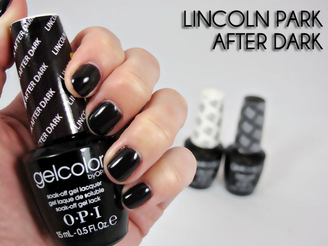 Гель-лак OPI Lincoln Park After Dark 15 мл