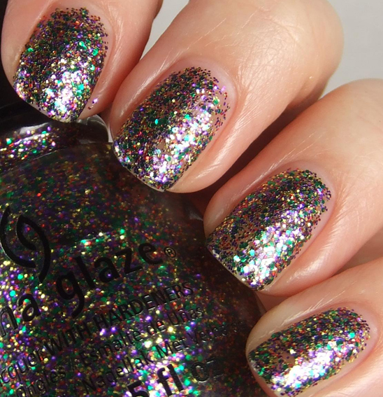лак China Glaze Glitter All The Way