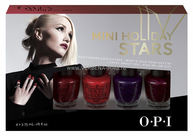 Лак OPI Gwen Stefani holiday 3,75 мл