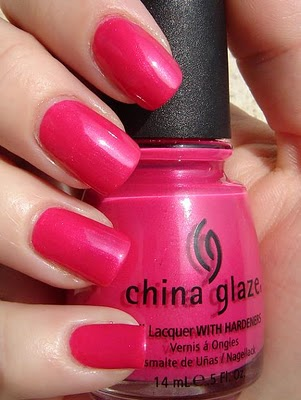 лак China Glaze It's Poppin