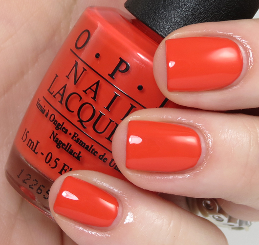 лак OPI My Paprika Is Hotter Than Yours