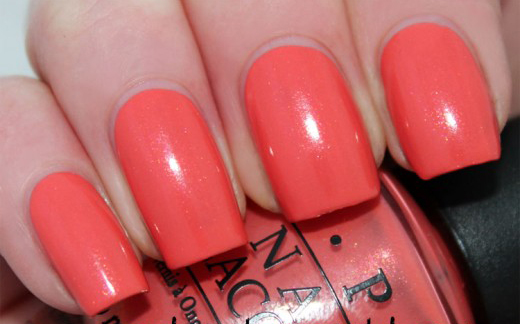 Лак OPI I Eat Mainely Lobster 15 мл