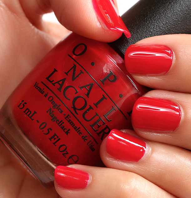 Лак OPI Red Hot Rio 15 мл
