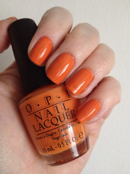 Лак OPI Orange You Stylish 15 мл