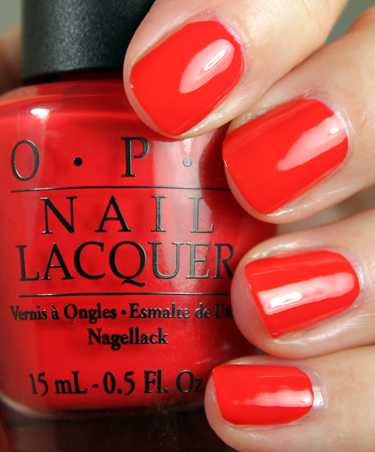 Лак OPI Red My Fortune Cookie 15 мл