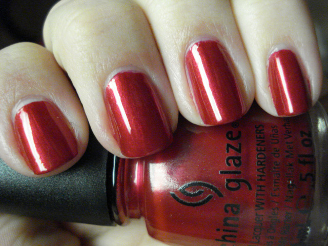 лак China Glaze Red Pearl