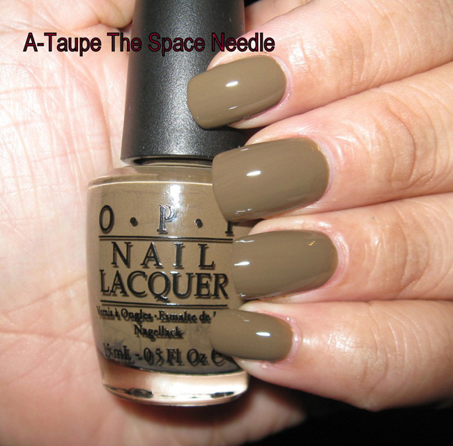 Лак A-taupe the Space Needle OPI 15 мл