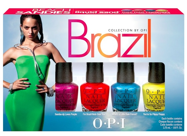 Лак OPI Beach Sandies Brazil 4*3,75 мл