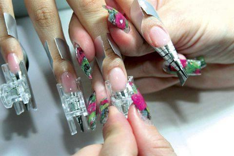пластиковые зажимы для ногтей