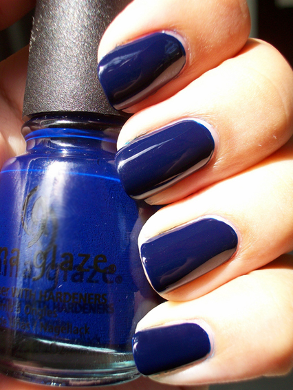лак China Glaze Calypso Blue