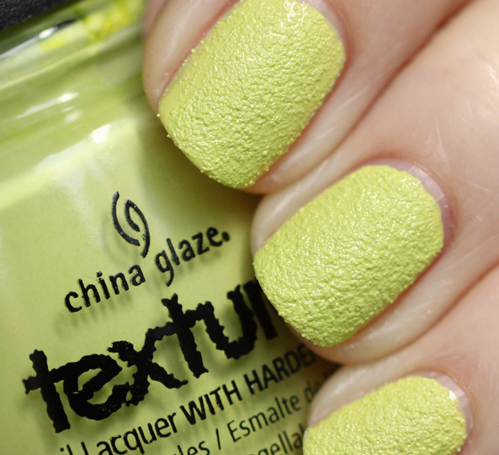 текстурный лак china glaze in the rough texture