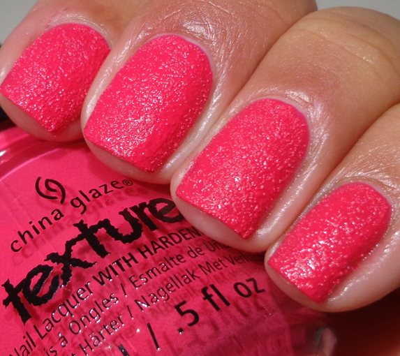 текстурный лак china glaze texture bump grind