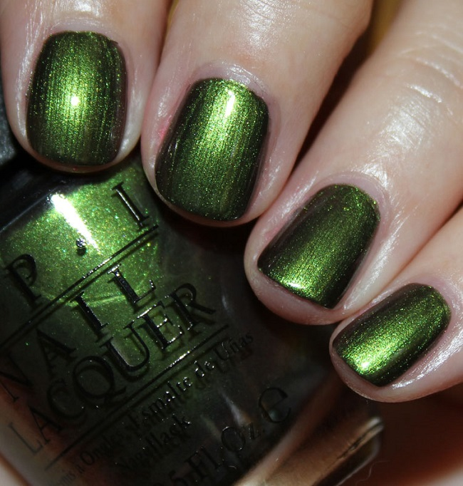 Лак OPI Green on the Runway 15 мл