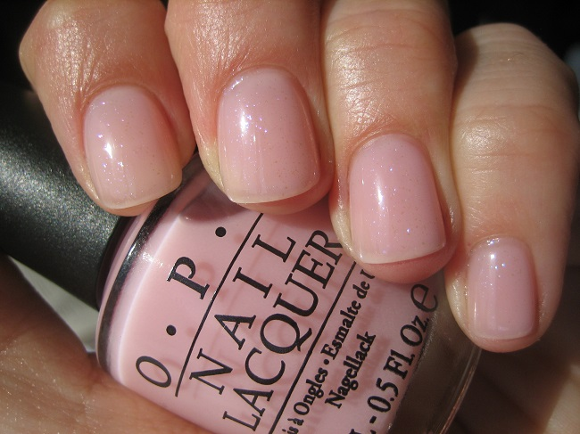 Лак OPI In the spot-light pink 15 мл