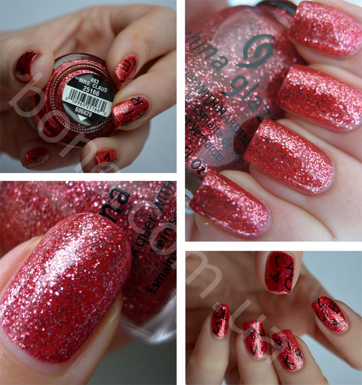 лак China Glaze Mrs. Claus