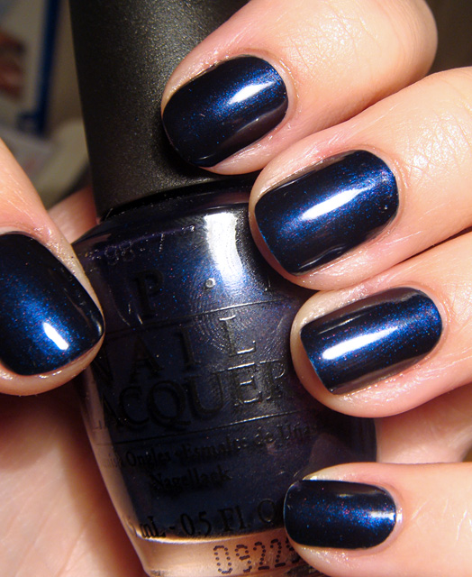 Лак OPI Russion Navy 15 мл