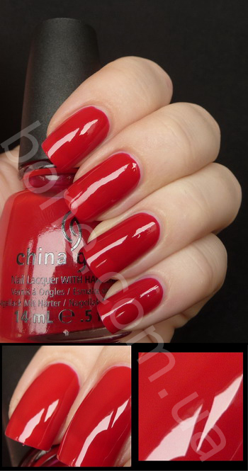 лак China Glaze Scarlet