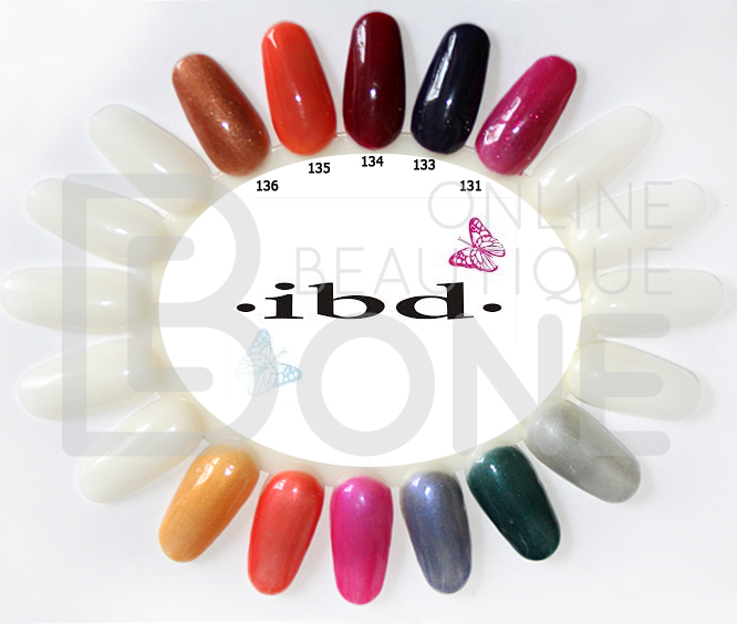 Палитра гель-лаков IBD Just Gel Polish 19400/131-136