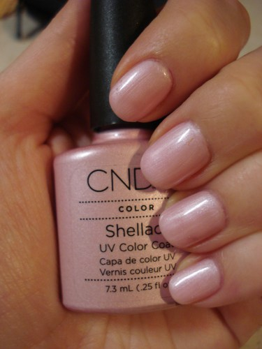 CND Shellac Strawberry Smoothie
