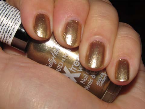 Лак Sally Hansen Xtreme wear №485 Golden-I