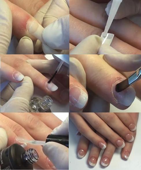 Как наращивать ногти гелем в домашних условиях пошаговая
