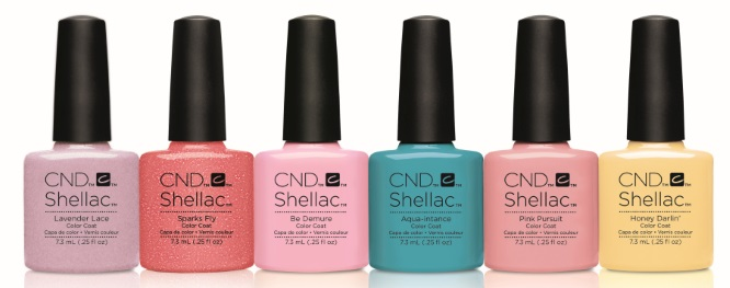 новые цвета CND Flirtation 2016 Shellac и Vinylux Collection