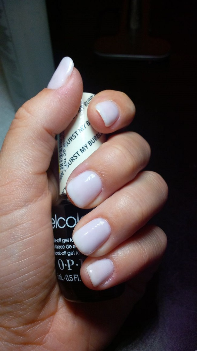 Гель-лак OPI Dont Burst My Bubble 15 мл