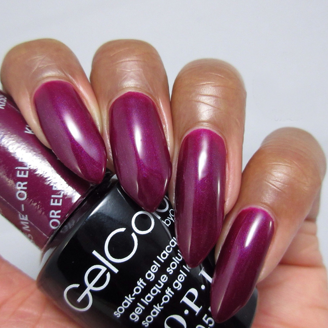 Гель-лак OPI Kiss Me-Or Elf 15 мл