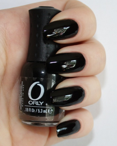 ORLY Black Out mini