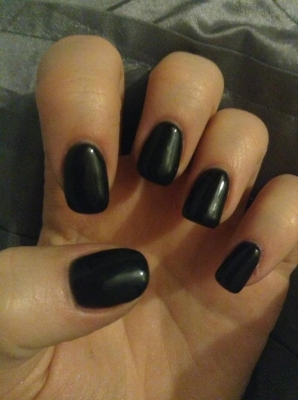 гель лак ibd Just Gel Polish Black Lava