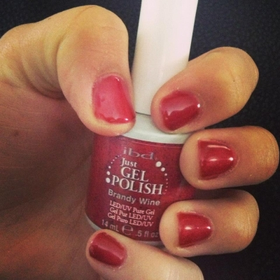 гель лак ibd Just Gel Polish Brandy Wine