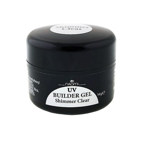 UV Builder Gel Shimmer Clear 14г