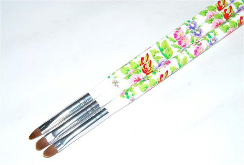 Gel brush artificial rounded YKGR-06-C