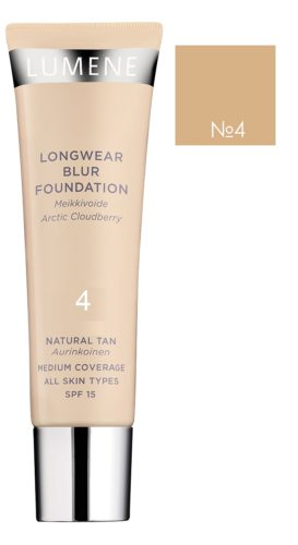 Longwear Blur Foundation №4 30 мл